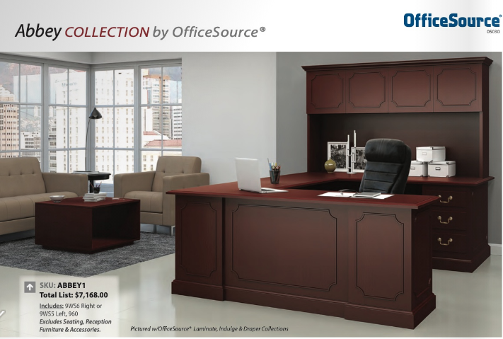 Abbey Collection home office furniture houston
