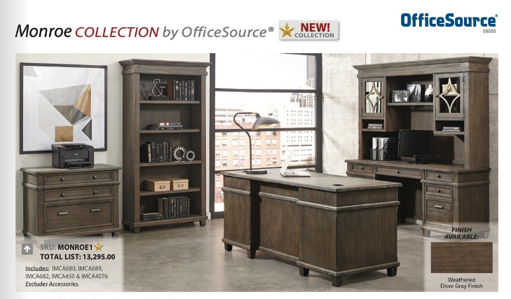 Monroe collection home office houston